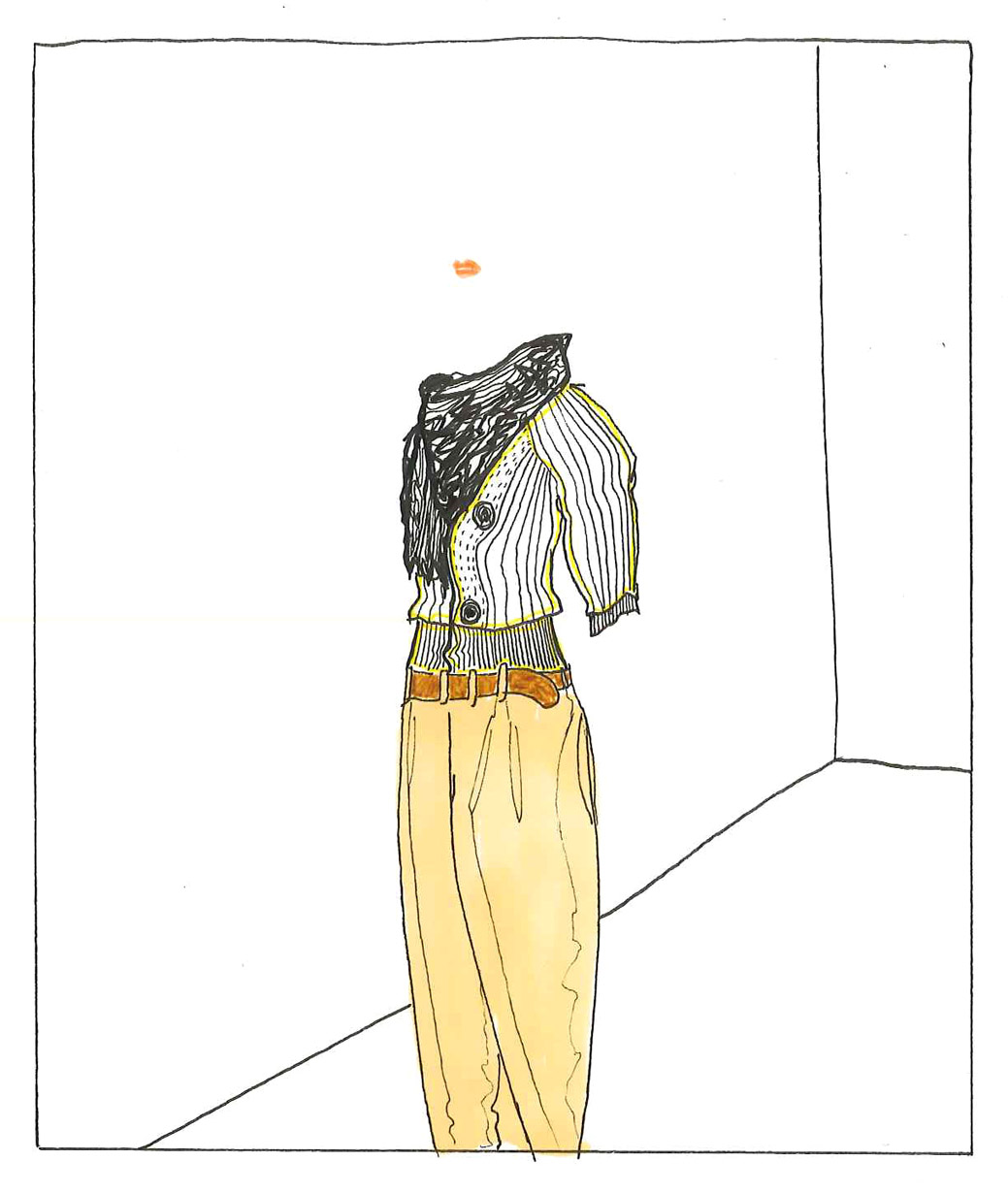 Andy Bumpus Fashion Illustration Chinos