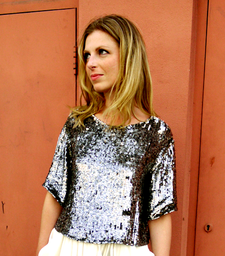Phillip Lim Sequin Top