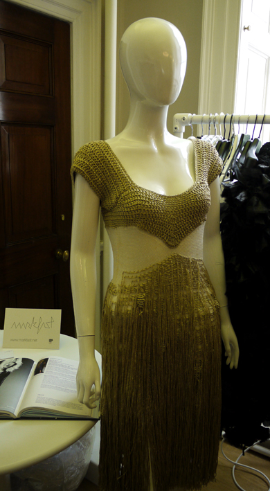Mark Fast Gold Dress