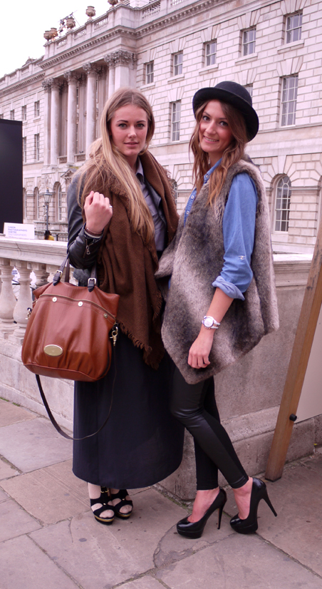 Mulberry Bag Bowler Hat LFW