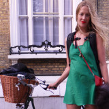 Street Style: Angel in Islington (Complete with Pashley & Prada Bag)