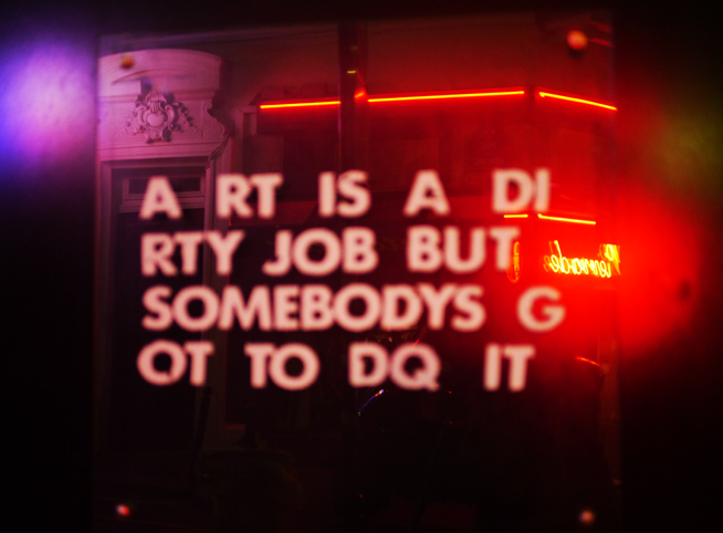 Art Is A Dirty Job