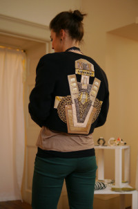 Holly Fulton Applique Jacket
