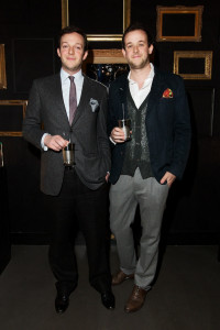 Henry and George Graham co-founders Wolf & Badger