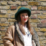 Street Style: Kelly Tison's Bowler Hat in Evening Standard