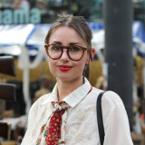 Street Style: Aldene Johnson's Cutler & Gross Glasses