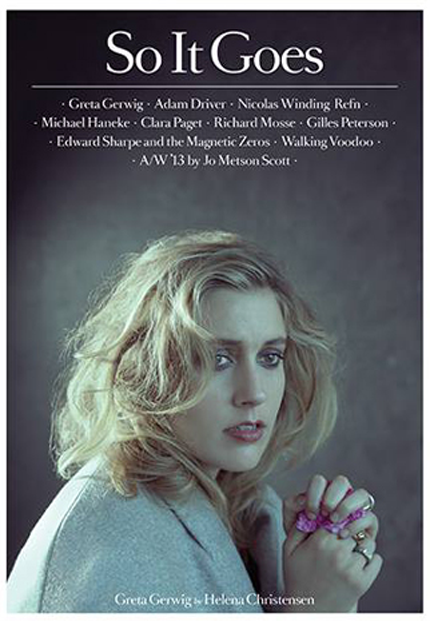 Greta Gerwig So It Goes Magazine