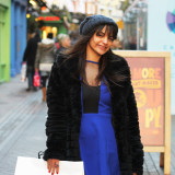 Street Style: Rossella's Christmas Party Dress On Carnaby Street