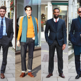 Street Style: Savile Row's Suitable Boys For Evening Standard