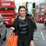 Street Style: Tilly Morris In AQ/AQ On Regent St