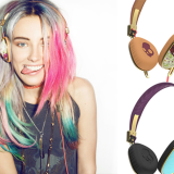 Skullcandy's Bold, Gold & Floral Headphones