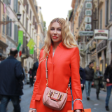 Street Style: Kristina In Rome