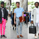 London Collections Men Street Style
