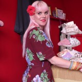 Powder Pink, Red & Floral Street Style