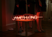 James Long Neon Sign