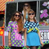 Street Style: Tahmida & Laura at House Of Holland's Pop-Up Shop
