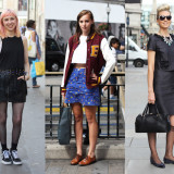 Street Style: Oxford Circus London Looks for Evening Standard