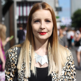 Street Style: Amy Shipp In Oxford Circus